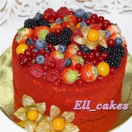 Торт «Красный Бархат»