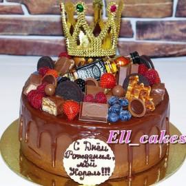 Торт «Виски-шоколад»